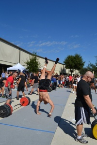 2012 Competition in Orlando with CrossFit Games athletes.