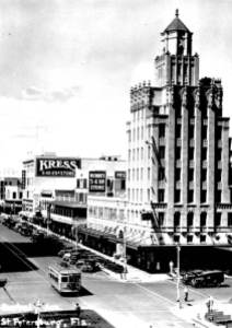 Central Avenue and the Kress building from the 1920's (photo courtesy of floridamemory.com)