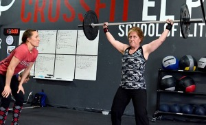 This mother and daughter duo completed the 2013 CrossFit Games Open together.