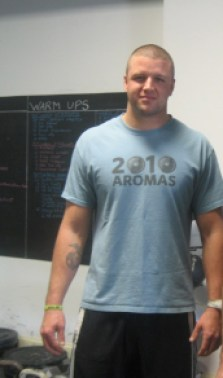 "Taken right after completing my Level 1 in 2009. Back when the CrossFit Games were still at ""the ranch"" in Aromas."